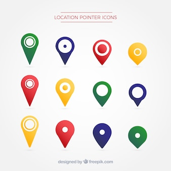 Location pointer symbol