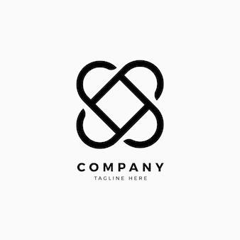 Шаблон логотипа lock design