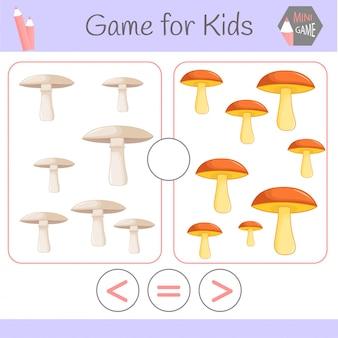 Logic educational game for preschool children