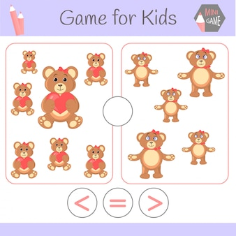 Logic educational game for preschool children