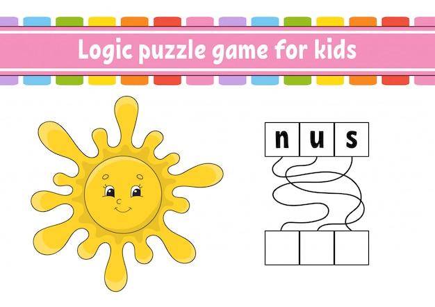 Logic puzzle game.