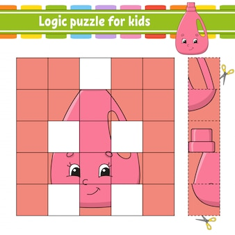 Logic puzzle for kids.