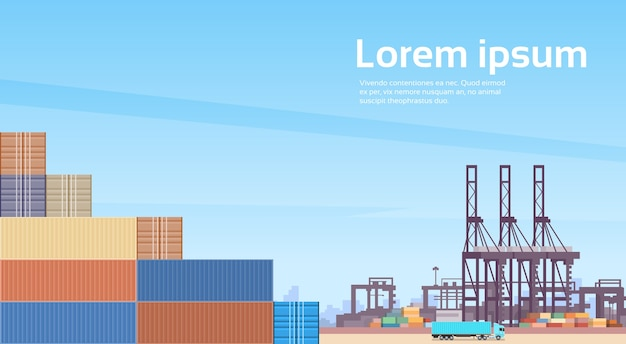 Logistics cargo container