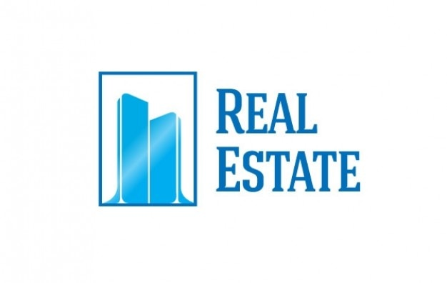 Logo 2 buildings real estate