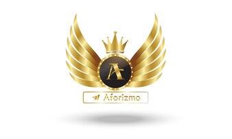 Logo Aforizmoエンジェルウィングス