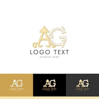 Logo ag, monogram ag