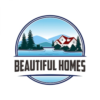 Logo for beautiful homes