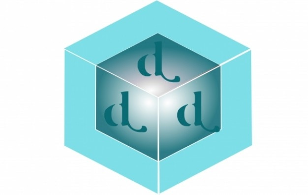 Logo blue & green square d