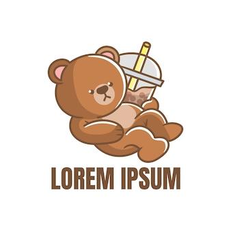Logo bubble bear