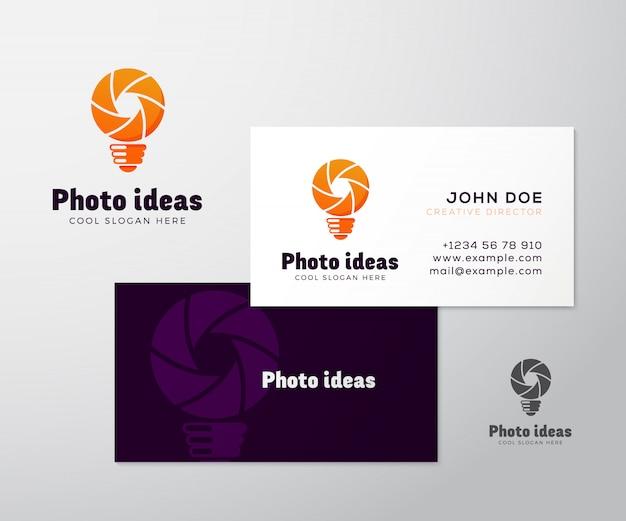 Logo business card template