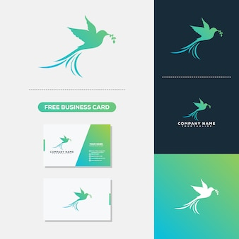 Logo and business card vector template