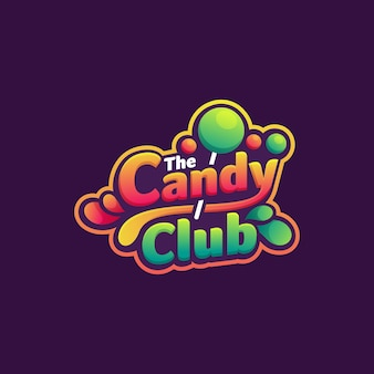 Logo candy club
