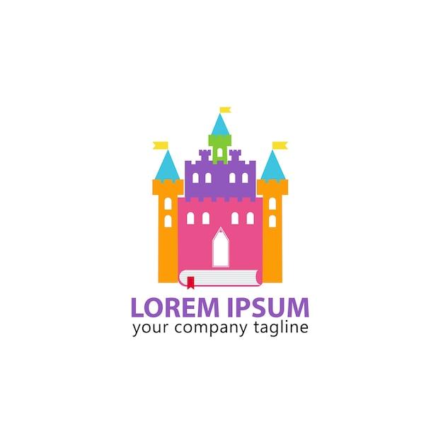 Logo castle book full color