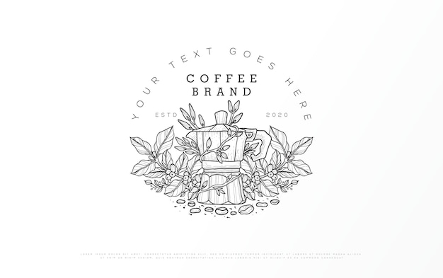 Logo of a coffee brand