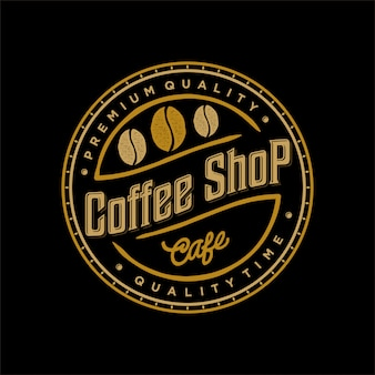 Logo for coffee and food drink label