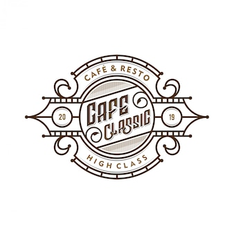 Logo for coffee shops or coffee product labels