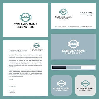 Logo cook and business card