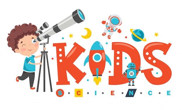 Logo design for kids science