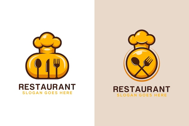Logo design of restaurant good food