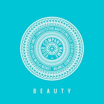 로고 디자인 템플릿 화장품 라벨