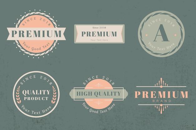 Logo design templates
