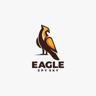 로고 독수리 마스코트