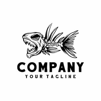 Logo for fish spines