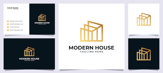 Логотип для недвижимости