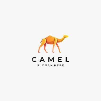 Логотип иллюстрация верблюд