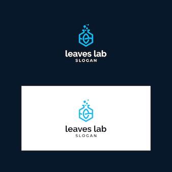 Logo inspiration leaves lab
