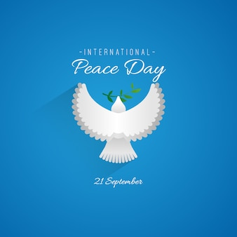 Logo of international peace day