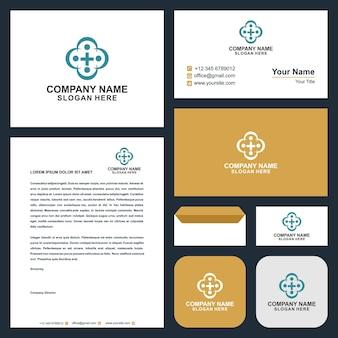 로고 의료 및 명함