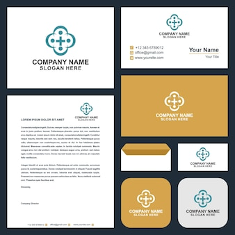 Logo medical and business card