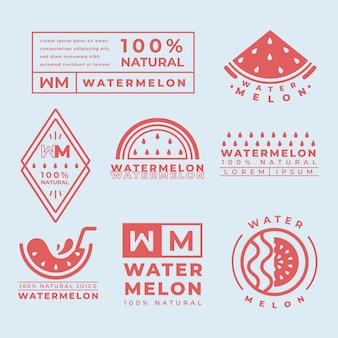 Logo minimal template set