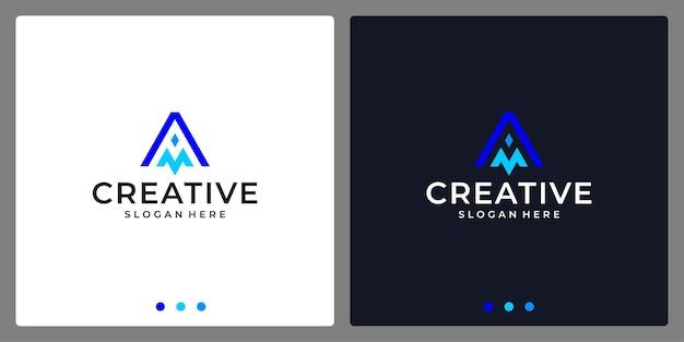 Логотип монограмма буквица аннотация. визитная карточка.