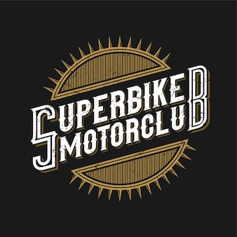 Logo for the motorcycle community or motorcycle workshop