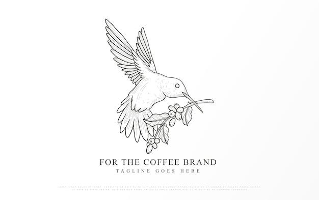 커피 브랜드 로고