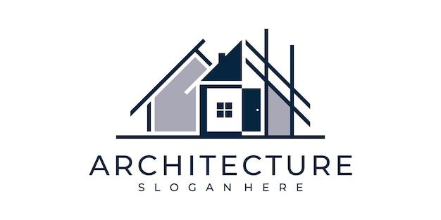 건축 회사 로고