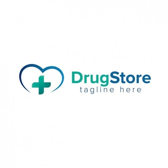 薬局のロゴ 無料ベクター