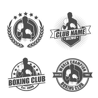 Боксерский клуб logo pack