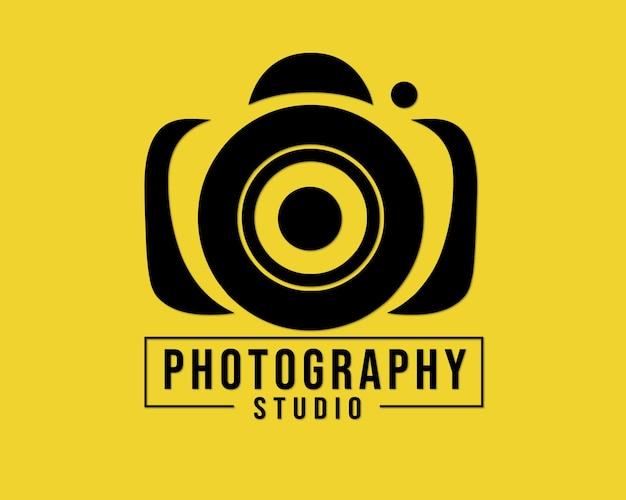 Logo photography template design vectror