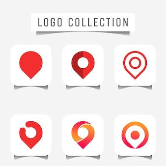 Logo of pin marker location