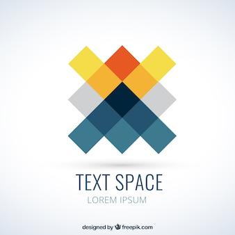 Logo in pixels style