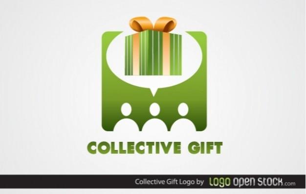 Logo present collective gift