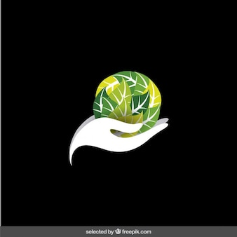 Logo protect the environment