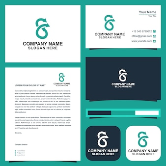 Logo s and business card