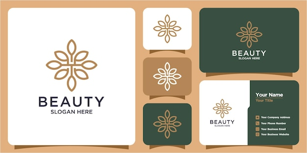 Logo for salon and beauty