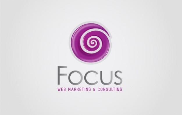 Logo swirl focus web marketing & consulting