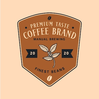 Logo template for coffee business