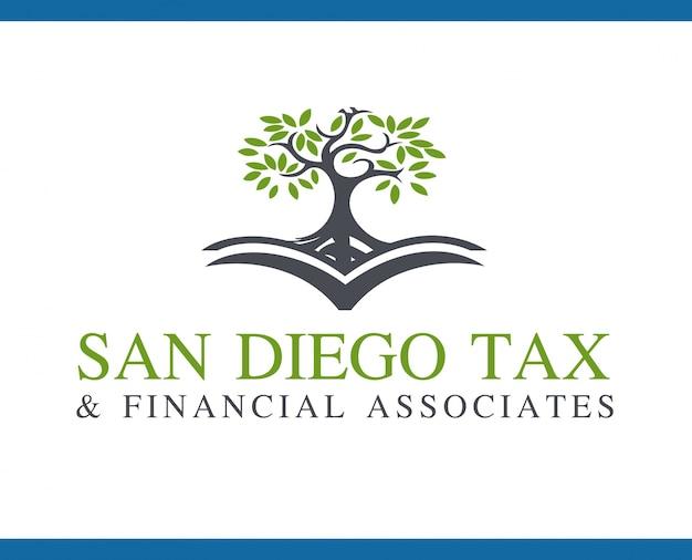 Logo template san diego tax